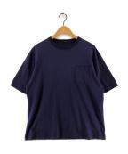 leno(リノ)の古着「HALF SLEEVE POCKET Tシャツ」|パープル