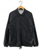 GOOD DESIGN SHOP COMME des GAR(グッドデザインショップ コムデギャルソン)の古着「CDGプリントコーチジャケット」 ブラック