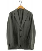 ()の古着「UAST WOOL ウォッシュ3B ジャケット」|カーキ