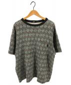 stussy(ステューシー)の古着「[古着]80sポケットTシャツ」|グリーン