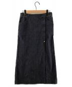 ()の古着「ココマークデニムスカート」 インディゴ