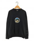 LANVIN(ランバン)の古着「Paradise スウェットシャツ」|ブラック