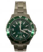 FOSSIL(フォッシル)の古着「腕時計 リストウォッチ」 グリーン