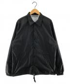 GOOD DESIGN SHOP COMME des GAR(グッドデザインショップ コムデギャルソン)の古着「CDGバックプリントコーチジャケット」 ブラック