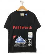 Maison MIHARA YASUHIRO(メゾン ミハラヤスヒロ)の古着「Password: printed T-shirt 」|ブラック