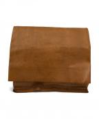 MAISON EUREKA(メゾン エウレカ)の古着「ecycle leather bag」|ブラウン