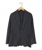 UNITED ARROWS(ユナイテッドアローズ)の古着「ウールジャージー2Bジャケット テーラードジャケット」|ブラック