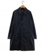 SOVEREIGN(ソブリン)の古着「ナイロンタフタステンカラーコート」|ネイビー