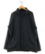 ALPHA()の古着「SHELTECH ライトECWCSジャケット」 ブラック