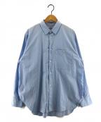 saby(サバイ)の古着「STANDARD SHIRTS スタンダードシャツ」 ブルー
