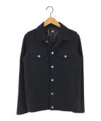 ()の古着「ウールウィンドストッパージャケットジャケット」 ブラック