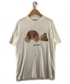 Palm Angels(パームエンジェルス)の古着「BEAR S/S T-SHIRT Tシャツ」|ホワイト