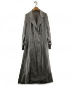 Rirandture(リランドチュール)の古着「シアートレンチコート」|グレー
