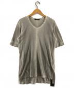 THE VIRIDI-ANNE(ヴィリジアン)の古着「流し初めコットン天竺カットソー Tシャツ」 グレー