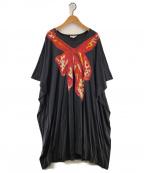 Vivienne Westwood RED LABEL(ヴィヴィアンウエストウッドレッドレーベル)の古着「テンセルカットソーワンピース」|グレー