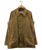 Barbour()の古着「BEDALE TECH CASUAL ジャケット」 ブラウン