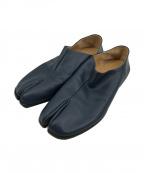 Maison Margiela 22(メゾンマルジェラ 22)の古着「TABI BABOUCHE 足袋バブーシュ 足袋ブーツ」 ネイビー
