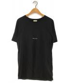 Saint Laurent Paris(サンローランパリ)の古着「16SSクラシックロゴプリントTシャツ」|ブラック
