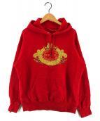 SUPREME(シュプリーム)の古着「Love or Hate Hooded Sweatshirt」|レッド