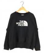 THE NORTH FACE()の古着「ヘザースウェットクルースウェット」|ブラック