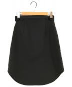 ()の古着「ウールスカート」|ブラック