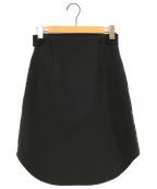 3.1 phillip lim(スリーワンフィリップリム)の古着「ウールスカート」 ブラック