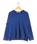 SUNSEA(サンシー)の古着「サイドジップスウェット」 ブルー