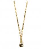 agete(アガット)の古着「K18ダイヤモンドネックレス」|ゴールド