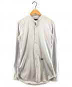 DSQUARED2()の古着「バックスカーフ付バンドカラーシャツ」|ホワイト