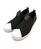 adidas()の古着「スーパースターSLIP-ON」|ブラック