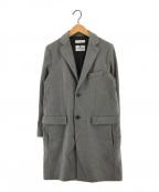 BEAUTY&YOUTH(ビューティアンドユース)の古着「チェスターコート」|グレー
