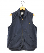 POST O'ALLS(ポストオーバーオールズ)の古着「NORTHWEST 2ベスト」|ネイビー
