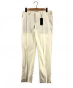 JOSEPH HOMME(ジョゼフ オム)の古着「ライトストレッチタッサーパンツ」 ホワイト