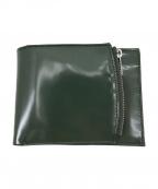 Maison Margiela()の古着「20SS BI-FOLD WALLET 2つ折り財布」 カーキ