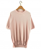 DRESSTERIOR(ドレステリア)の古着「コットン半袖ニット」|ピンク
