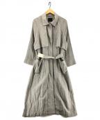 KBF(ケービーエフ)の古着「リネン混コート」 グレー