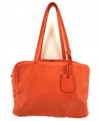 REN(レン)の古着「FUKURO HALLIEボストンバッグ」|オレンジ