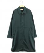 CULLNI(クルニ)の古着「20AW ジップシャツコート」 グリーン