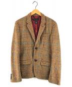 ()の古着「ウールテーラードジャケット」|ブラウン