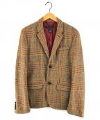 Marc by Marc Jacobs(マークバイマークジェイコブス)の古着「ウールテーラードジャケット」|ブラウン