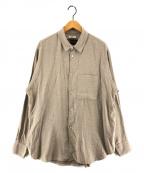 saby(サバイ)の古着「STANDARD SHIRTS スタンダードシャツ」 ベージュ