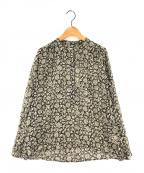 ISABEL MARANT ETOILE(イザベルマランエトワール)の古着「コットンプリントシャツ」|ブラック