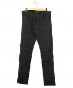 DIESEL Black Gold(ディーゼル ブラック ゴールド)の古着「TYPE-2813 Panelled jeans 」|ブラック