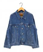 LEVI'S(リーバイス)の古着「DAD TRUCKER JACKET デニムジャケット」|インディゴ
