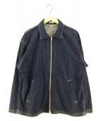 ()の古着「ジップアップデニムジャケット」 インディゴ