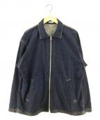 kaiko(カイコー)の古着「ジップアップデニムジャケット」|インディゴ