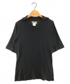 YOHJI YAMAMOTO(ヨウジヤマモト)の古着「半袖カットソー」|ブラック