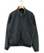 POLO RALPH LAUREN(ポロ・ラルフローレン)の古着「ソフトシェルジップアップジャケット」|ブラック