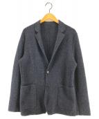 ()の古着「ミラノリブニットジャケット」 ネイビー