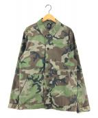 ()の古着「フレックスカモジャケット」 グリーン